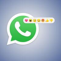 WhatsApp trabaja en añadir reacciones a los mensajes de chat