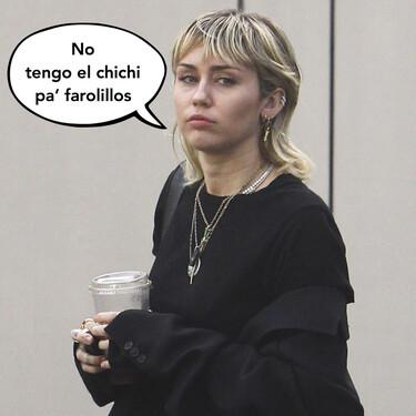 Miley Cyrus se cuelga al cuello su propia vagina: no hay ninguna medida seguridad que lo prohíba