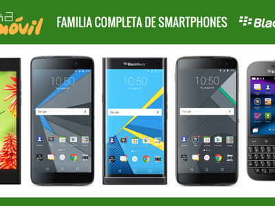 Así queda el catálogo completo de smartphones BlackBerry