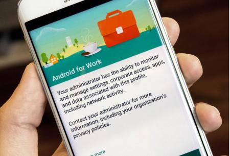 Google presenta oficialmente la aplicación Android para el Trabajo