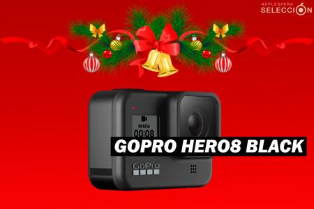 La cámara de acción 4K GoPro HERO8 Black tiene una gran rebaja en Amazon que la deja a 309,99 euros, su precio mínimo histórico