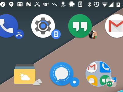 Nova Launcher 5.1 beta añade íconos dinámicos para brindar más información