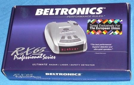Detector de radar Beltronics