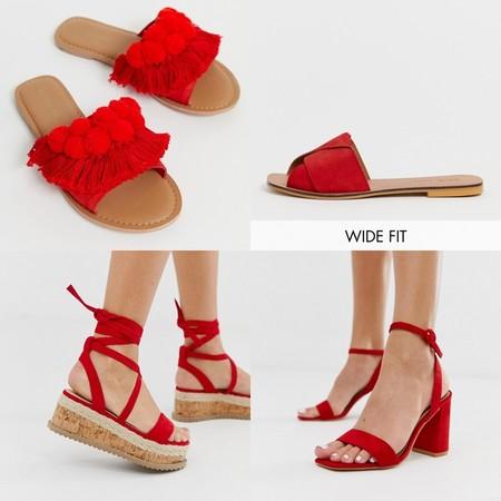 Zapatos Rojos Asos