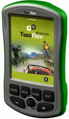 TwoNav Aventura, navegador GPS todoterreno