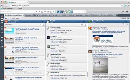 HootSuite añade soporte para Reddit, StumbleUpon y diversos servicios más
