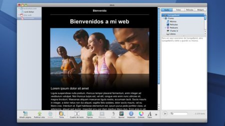 apple ilife iweb