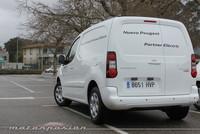 Peugeot Partner Electric, toma de contacto