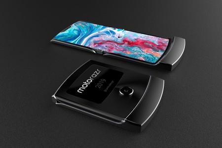 Motorola Razr 2019 Smartphone Plegable Render 2