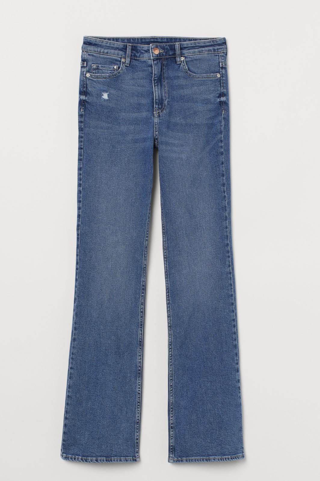 Bootcut High Jeans