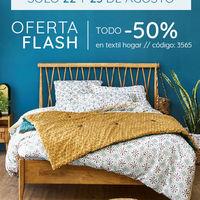Oferta flash en La Redoute: todo textil hogar a mitad de precio