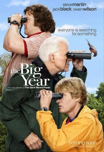 'El gran año', cartel y tráiler de la comedia con Steve Martin, Jack Black y Owen Wilson