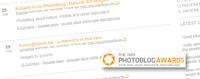 Comienzan los 2009 Photoblog Awards