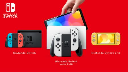 Nintendo Switch modelo OLED: estas son todas las novedades y diferencias con los otros modelos