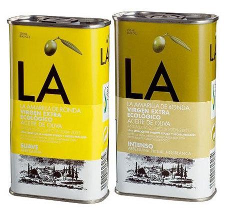 La amarilla de Ronda, un aceite ecológico diseñado por Philippe Starck