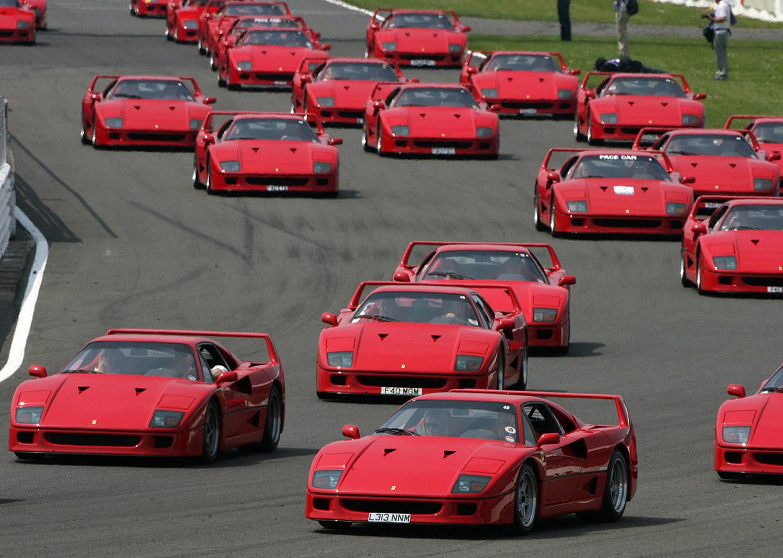 Foto de Ferrari F40, 30 aniversario (10/17)