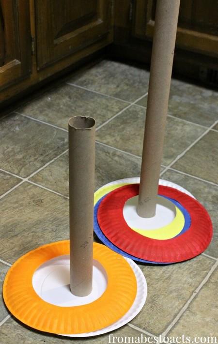 Juegos Actividades Ninos Casa Desechables Platos