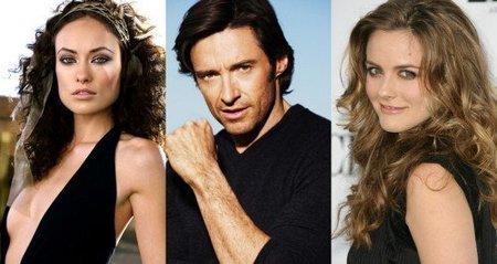 Hugh Jackman, Olivia Wilde y Alicia Silverstone en 'Butter'