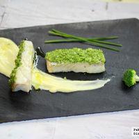 Bacalao con costra de brócoli: receta de Semana Santa