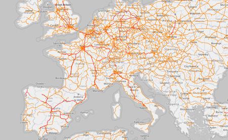 Porno ferroviario: este mapa te permite navegar por todas las líneas de trenes del planeta