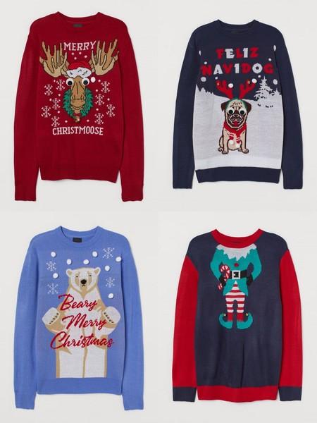 La Navidad Llego A H M Con Su Coleccion De Clasicos Y Divertidos Sueteres