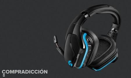 Estos auriculares gaming Logitech G935 Lightsync de casi 200 euros sólo cuestan 116 euros ahora en Amazon