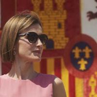 Doña Letizia también rebusca en el armario modelitos de otras temporadas, ¿vuelve el color blocking?