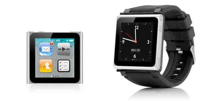 iPod Nano como reloj