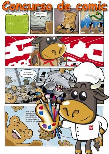 I Concurso de cómics Tori en China convocado por Spanish up