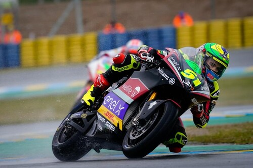 Eric Granado gana la carrera de MotoE en Le Mans tras un duelo precioso con Alessandro Zaccone en la última vuelta
