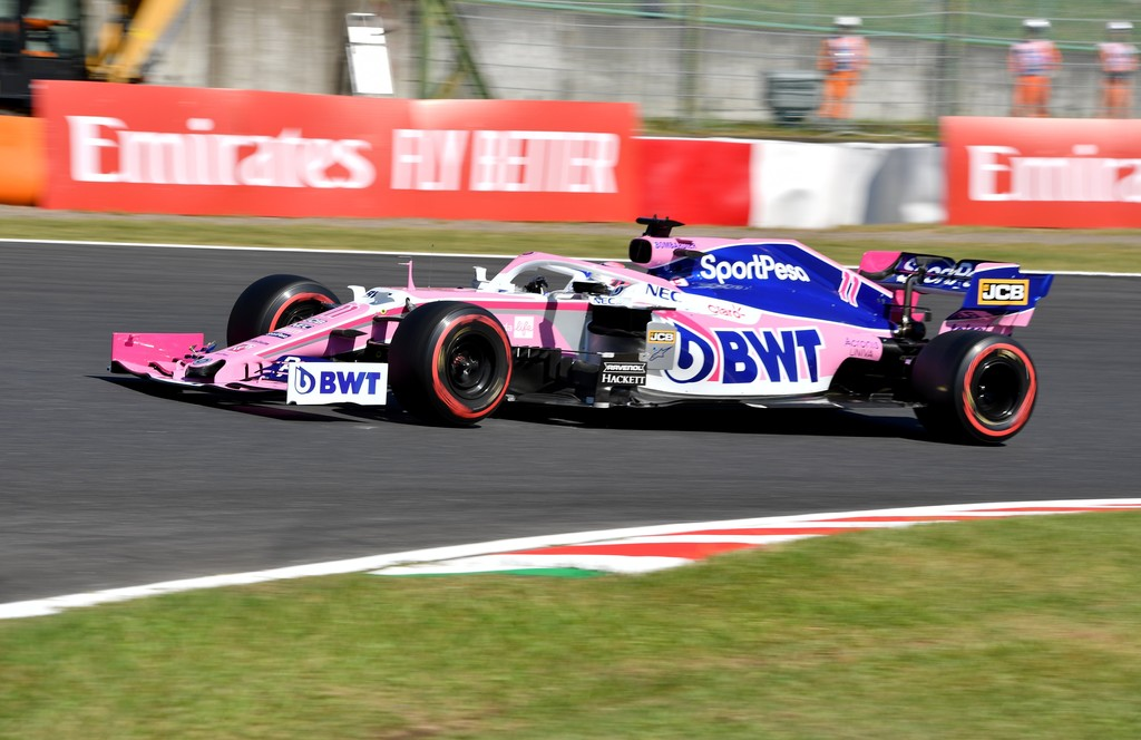 Salvado por la bandera: Sergio Pérez puntuó en Suzuka pese a estrellarse en la última vuelta