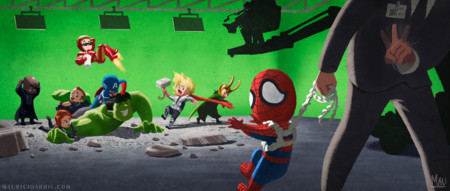 Spider-Man no puede jugar con los Vengadores todavía