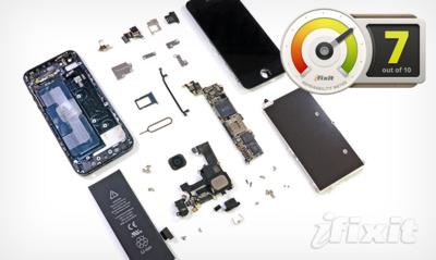 El iPhone 5 sorprende por su reparabilidad y resistencia a golpes y caídas