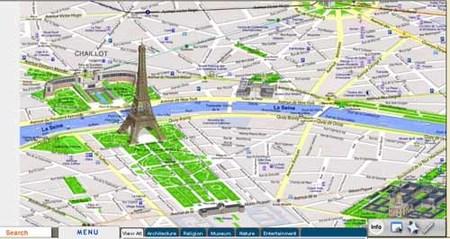 OnionMap: mapas turísticos de ciudades en tres dimensiones
