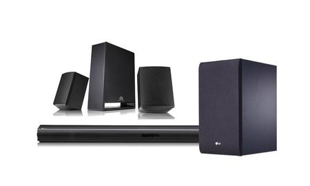 Mejorar el sonido de tu smart TV con sonido envolvente, te saldrá barato con la  LG SJ4R de El Corte Inglés, ahora por 181,30 euros