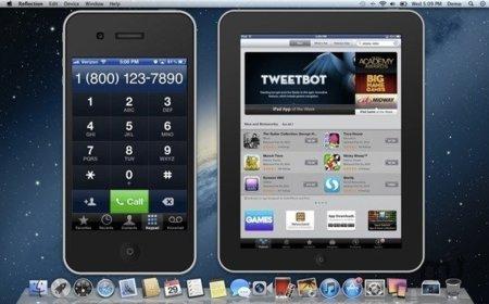 iPhone e iPad en pantalla gracias a Reflection