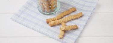 Espirales de queso y mostaza, receta de picoteo fácil y deliciosa