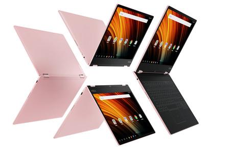 El Yoga Book y su teclado del futuro tienen una versión más asequible en el Lenovo Yoga A12, solo con Android