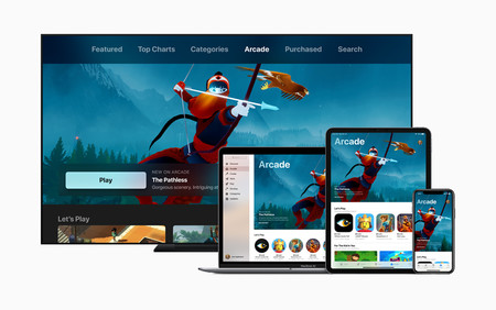 Apple Introduces Apple Arcade Apple Tv Ipad Pro Iphone Xs Macbook Pro 03252019 Big Jpg Large