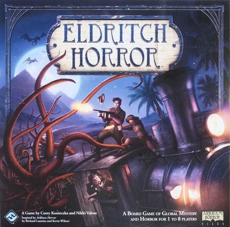 Portada del juego de mesa Eldritch Horror