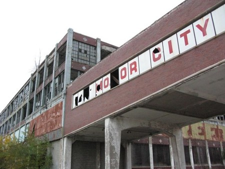 Fábrica abandonada de Packard en Detroit