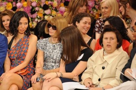 Muchas caras conocidas en el desfile de Christian Dior Alta Costura Otoño-Invierno 2012/2013