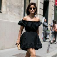 El little black dress se vuelve de lo más coqueto en verano