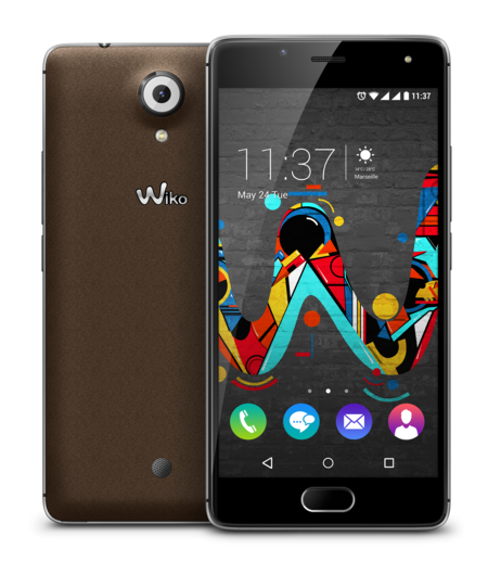 Wiko U Feel Silver Brown Compo 1