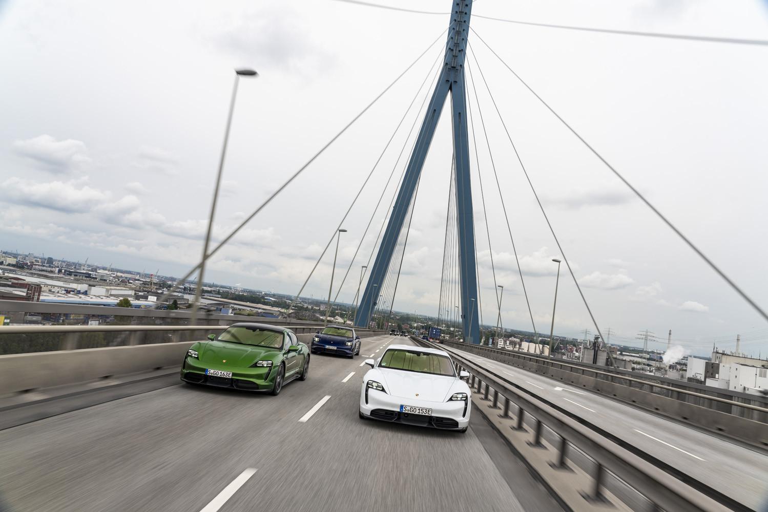 Foto de Porsche Taycan prueba contacto (127/275)