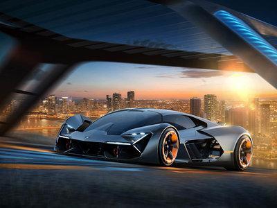 Eléctrico, bestial y magnífico. Así es el Lamborghini Terzo Millenio, el superdeportivo del futuro