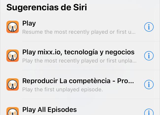 Overcast se actualiza para aprovechar al máximo iOS 12 y el nuevo Apple Watch
