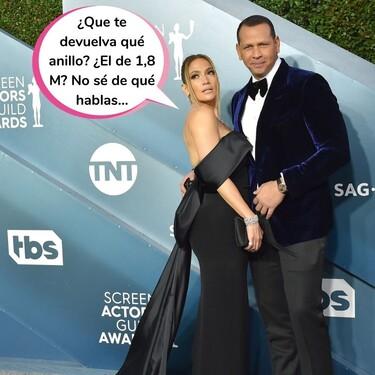 Y el anillo pa nunca: Jennifer López y Alex Rodríguez confirman su ruptura a golpe de comunicado