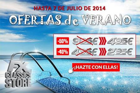 La tienda online de FX también celebra la llegada del verano con ofertas del 50% de descuento