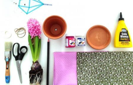 Un DIY de primavera: Recicla tus viejos tiestos